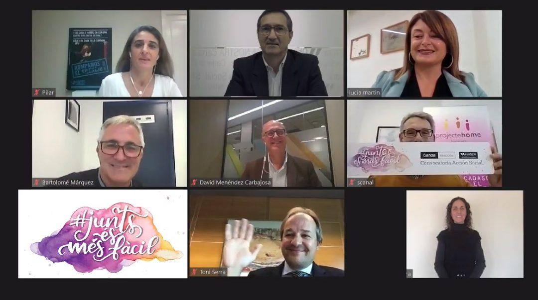 Bankia y Fundación Sa Nostra reconocen en un acto virtual  los proyectos de 42 entidades sociales de las Islas Baleares