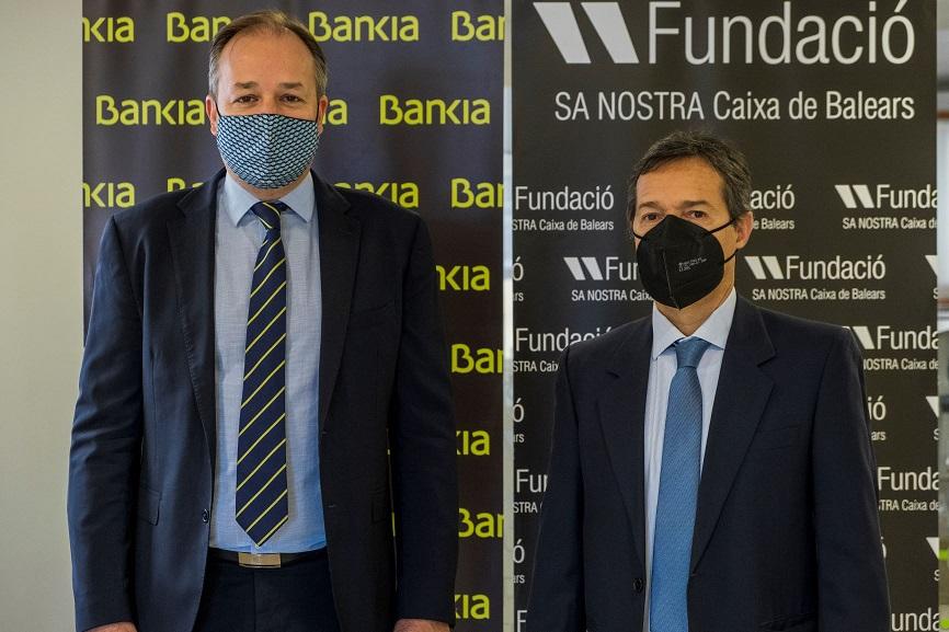 Bankia apoya con 510.000 euros a Fundació Sa Nostra para respaldar programas de acción social, medioambiental y cultural en Baleares