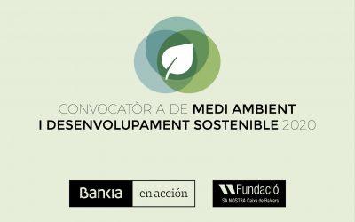Bankia y Fundació Sa Nostra lanzan  la 'I Convocatoria de Medioambiente y Desarrollo Sostenible'