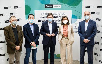 Bankia i les fundacions d'origen reconeixen en un acte virtual els 49 projectes de les convocatòries de medi ambient i desenvolupament sostenible