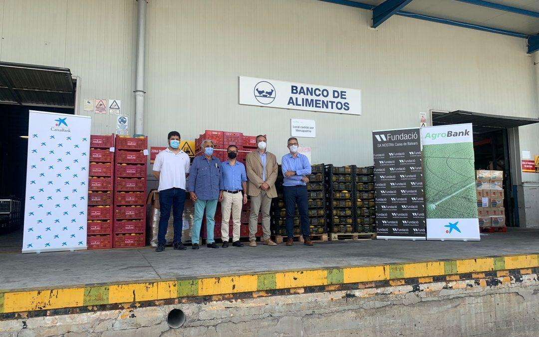 """Fundació Sa Nostra y la Cooperativa del Camp Mallorquí se unen a la campaña #NingúnHogarSinAlimentos de la Fundación """"la Caixa"""" y CaixaBank"""
